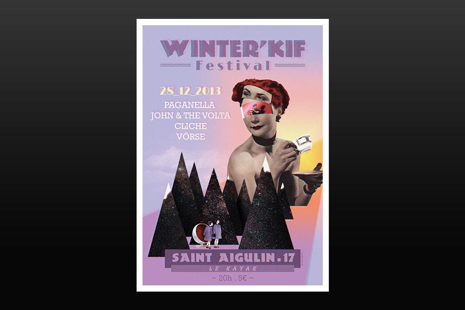 Affiche Winter Kiff