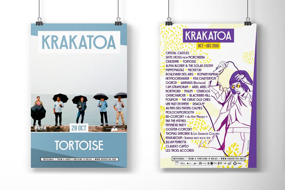 Affiche Krakatoa