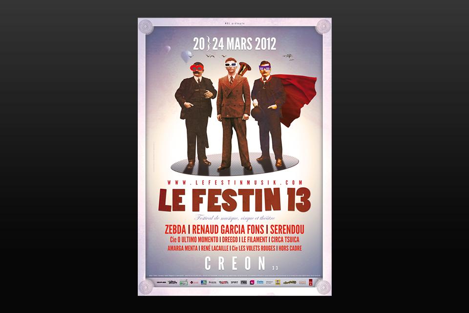 Affiche Festin 13