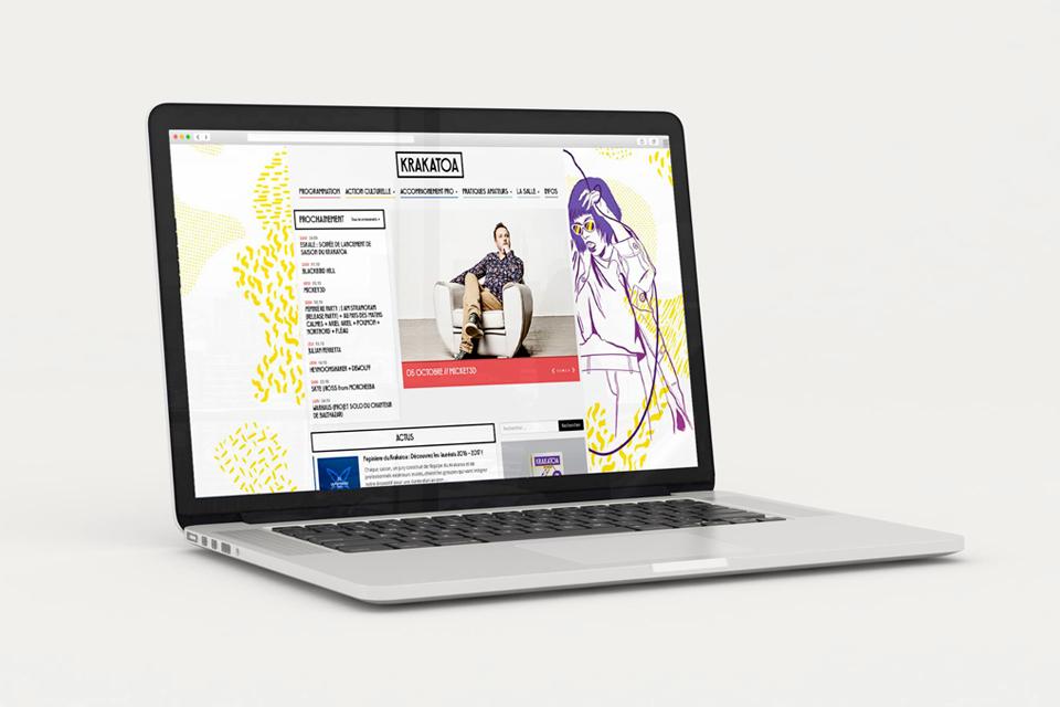 webdesign Krakatoa