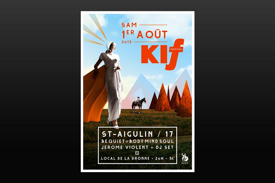Affiche Kif Festival